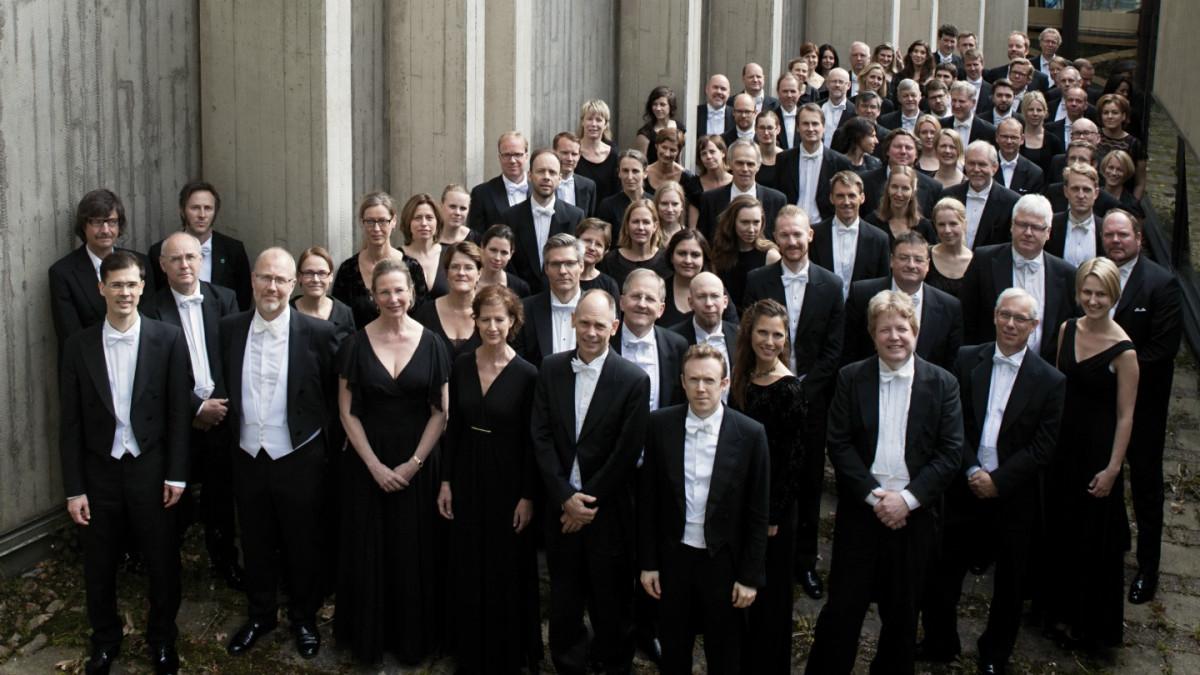 Sveriges Radios Symfoniorkester och Daniel Harding, chefsdirigent. Foto: Julian Hargreaves