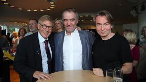 Michael Tydén, Valery Gergiev, Esa-Pekka Salonen.